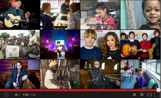 Figure 2: Screen-frame of YouTube